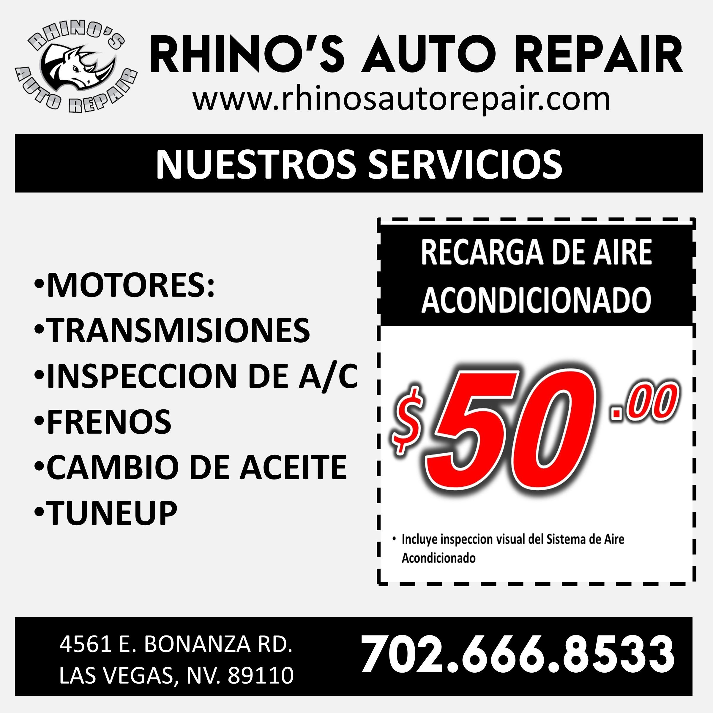 Rhinos Auto Repair